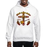 Skull Cross Guitar Hooded Sweatshirt