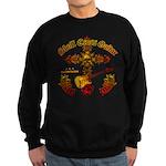 Skull Cross Guitar Sweatshirt (dark)