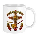 Skull Cross Guitar Mug