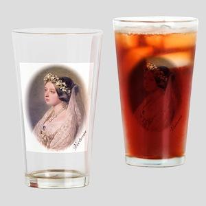 Queen Victoria Drinking Glass
