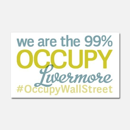Occupy Livermore Car Magnet 20 x 12
