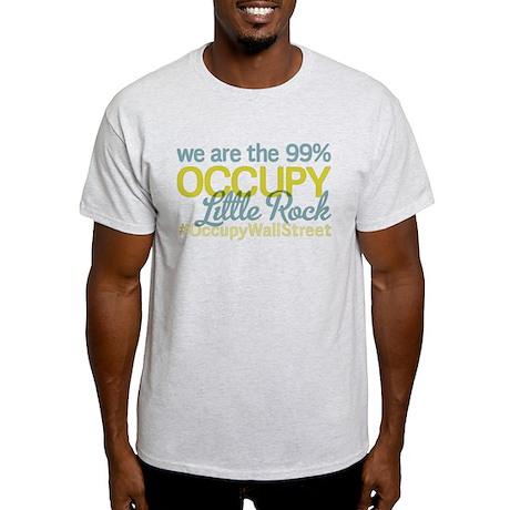 Occupy Little Rock Light T-Shirt