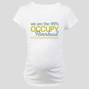 Occupy Riverhead Maternity T-Shirt