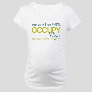 Occupy Riga Maternity T-Shirt