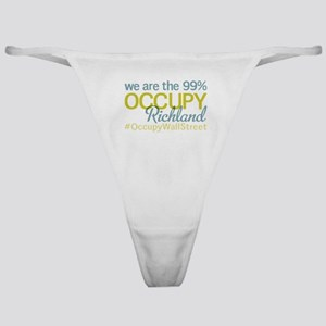 Occupy Richland Classic Thong
