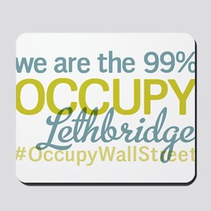 Occupy Lethbridge Mousepad