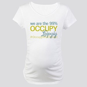 Occupy Leipzig Maternity T-Shirt