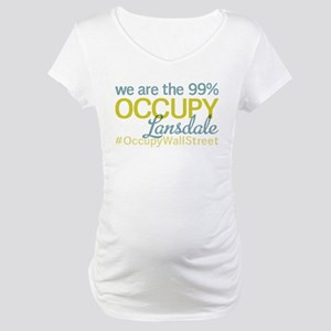 Occupy Lansdale Maternity T-Shirt
