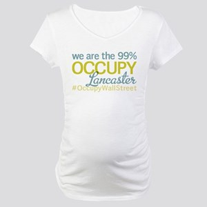 Occupy Lancaster Maternity T-Shirt