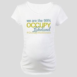 Occupy Lakeland Maternity T-Shirt