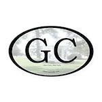 Glen Cove Oval Car Magnet