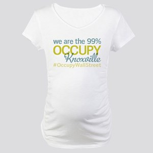 Occupy Knoxville Maternity T-Shirt
