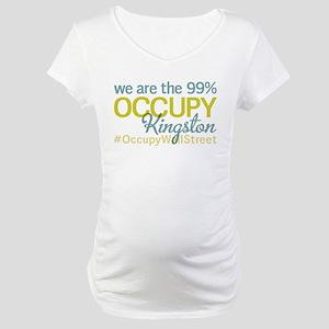Occupy Kingston Maternity T-Shirt