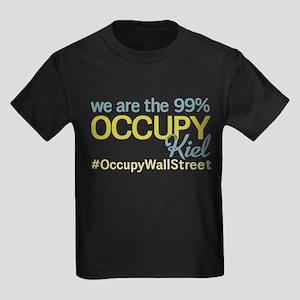 Occupy Kiel Kids Dark T-Shirt