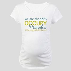 Occupy Princeton Maternity T-Shirt