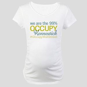 Occupy Kennewick Maternity T-Shirt
