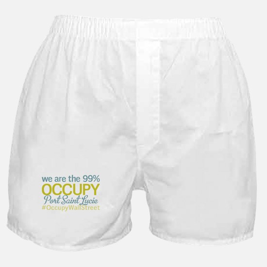 Occupy Port Saint Lucie Boxer Shorts