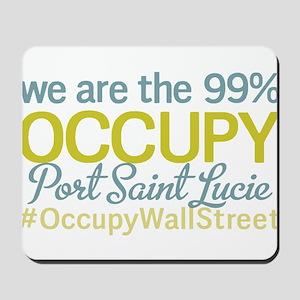 Occupy Port Saint Lucie Mousepad
