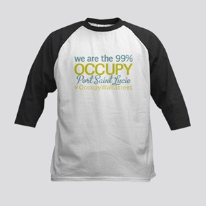 Occupy Port Saint Lucie Kids Baseball Jersey