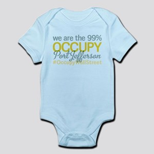 Occupy Port Jefferson Infant Bodysuit