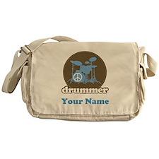Personalized Drummer Messenger Bag