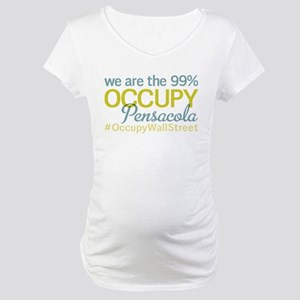 Occupy Pensacola Maternity T-Shirt
