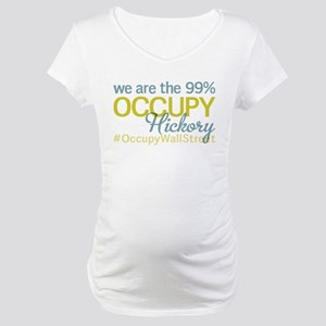 Occupy Hickory Maternity T-Shirt