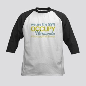 Occupy Hernando Kids Baseball Jersey