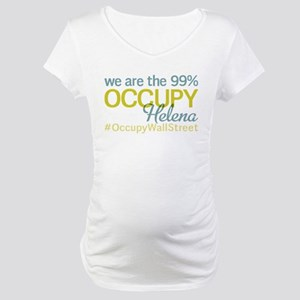 Occupy Helena Maternity T-Shirt