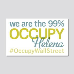 Occupy Helena Car Magnet 20 x 12