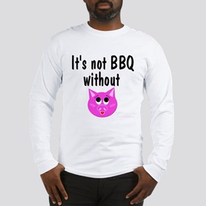 Pork BBQ Long Sleeve T-Shirt