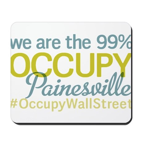 Occupy Painesville Mousepad