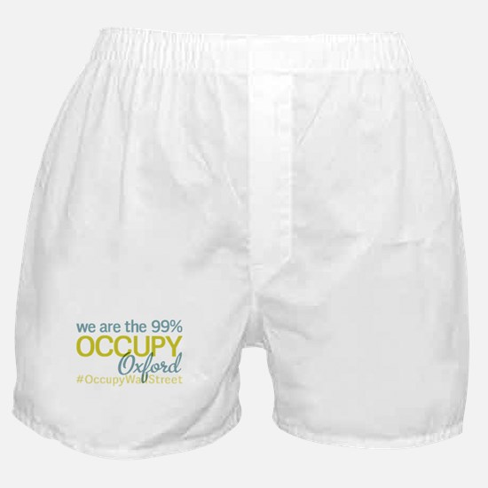 Occupy Oxford Boxer Shorts