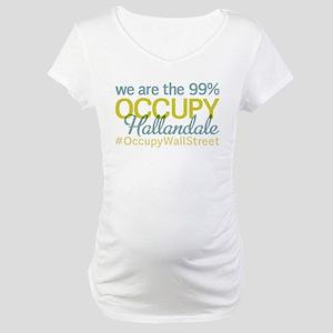 Occupy Hallandale Maternity T-Shirt