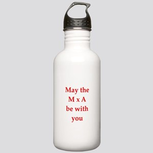 funny physics joke Stainless Water Bottle 1.0L