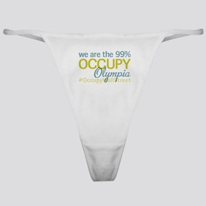Occupy Olympia Classic Thong