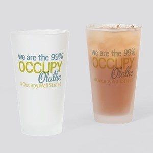 Occupy Olathe Drinking Glass