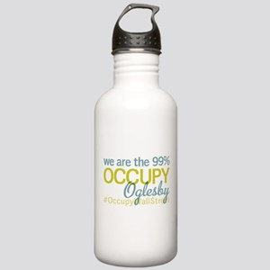 Occupy Oglesby Stainless Water Bottle 1.0L