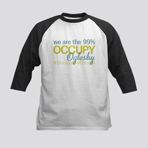 Occupy Oglesby Kids Baseball Jersey