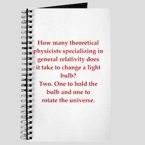 funny physics joke Journal