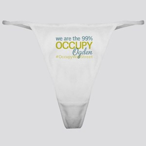Occupy Ogden Classic Thong