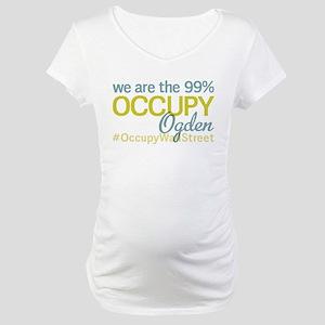 Occupy Ogden Maternity T-Shirt