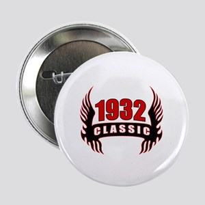 """1932 Classic Wings 2.25"""" Button"""