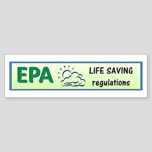 EPA Sticker (Bumper)