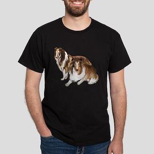 two collies Dark T-Shirt