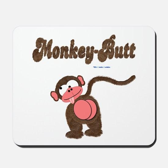 Monkey-Butt Mousepad