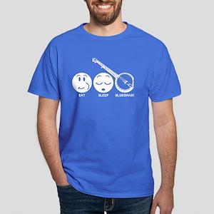 Eat Sleep Bluegrass Dark T-Shirt