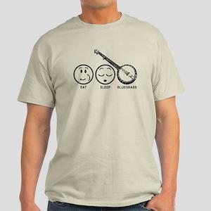 Eat Sleep Bluegrass Light T-Shirt
