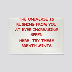 funny astronomy joke Rectangle Magnet
