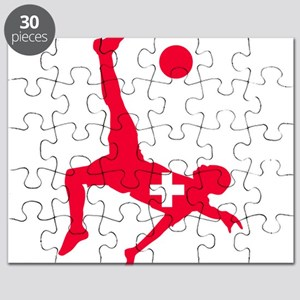 Switzerland Soccer Puzzle
